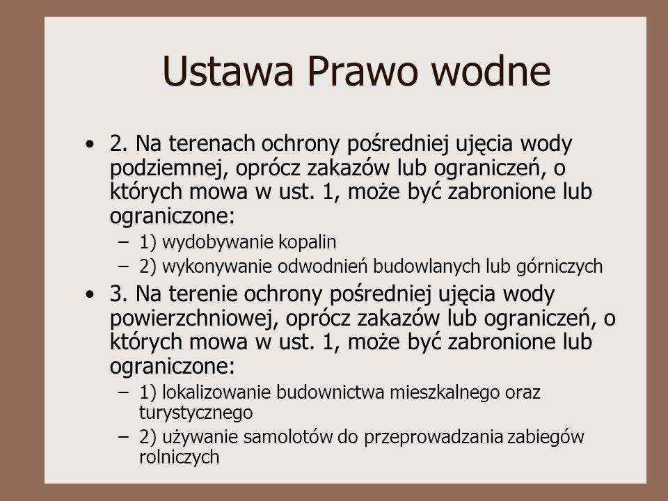 Ustawa Prawo wodne 2.
