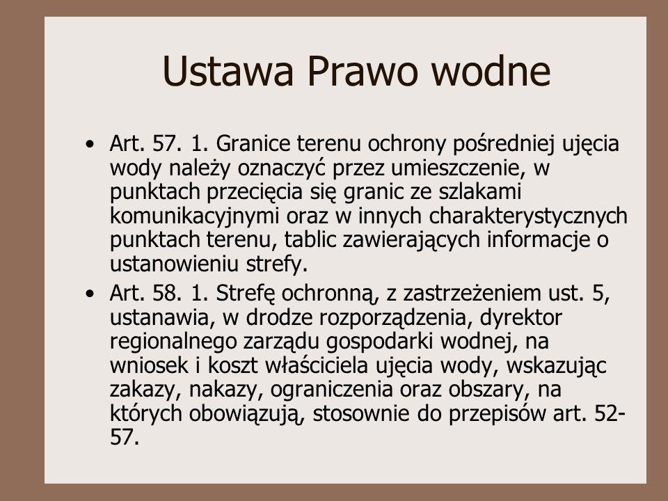Ustawa Prawo wodne Art.57. 1.