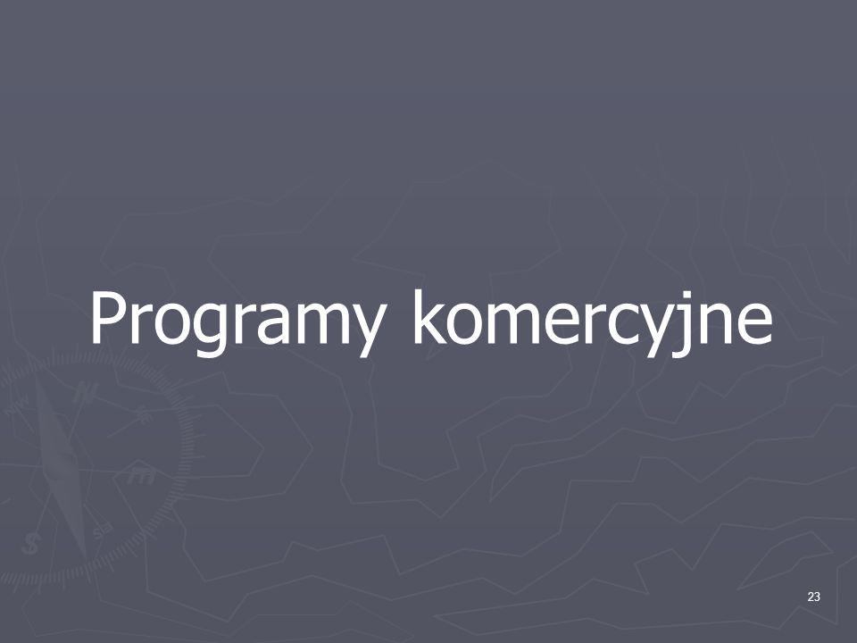 23 Programy komercyjne