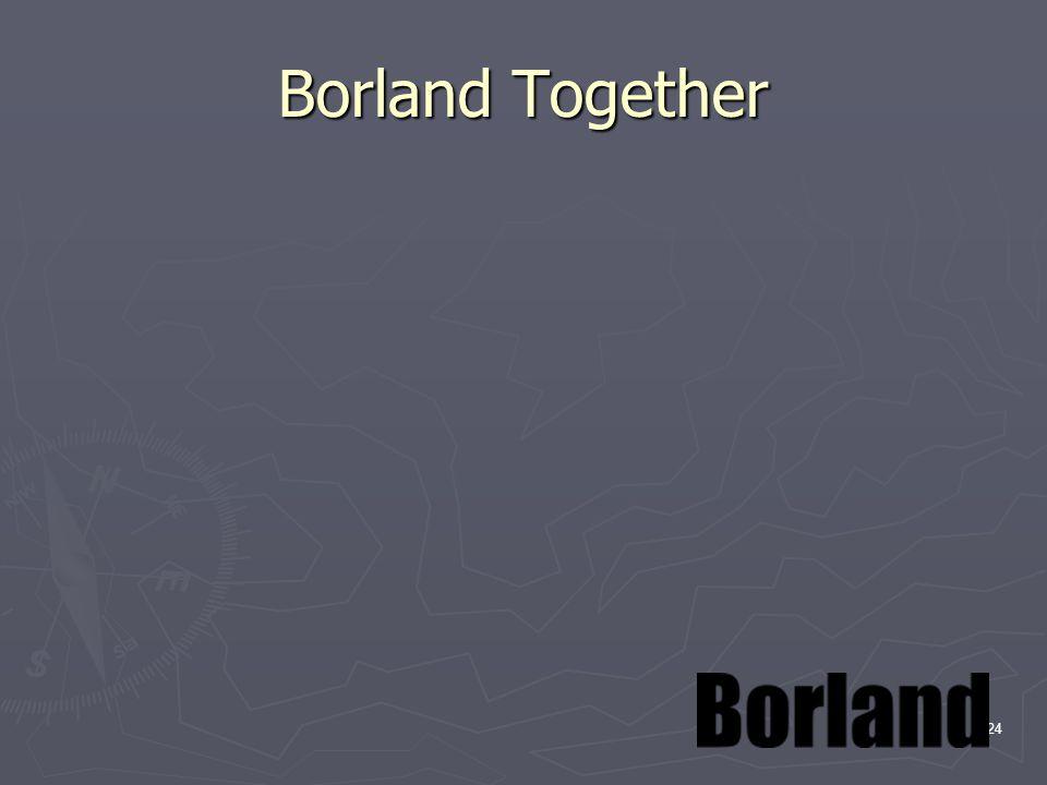 25 Borland Together Borland Together jest platformą zaprojektowaną w celu wspierania architektów, programistów, projektantów UML oraz analityków procesów biznesowych w szybkim i skutecznym współdziałaniu w procesie tworzenia oprogramowania.Borland Together dostarcza wszystkim uczestnikom projektu proste, obrazowe modele ułatwiające zrozumienie funkcjonalności i związane z nią podejmowanie strategicznych decyzji.