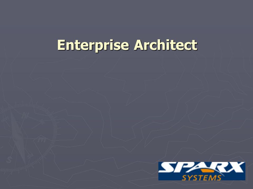 28 Enterprise Architect Zaawansowane narzędzie do modelowania systemów za pomocą UML.