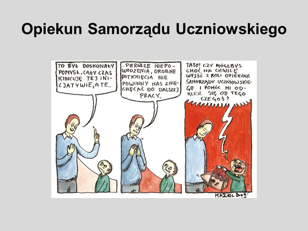Opiekun Samorządu Uczniowskiego