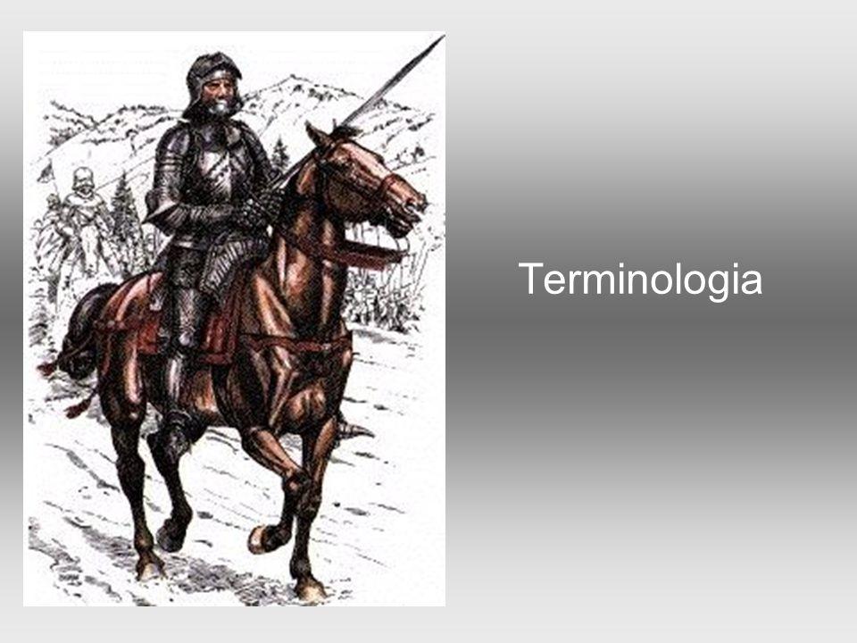  Rycerstwo - w średniowieczu warstwa społeczna (stan) trudniąca się służbą wojskową  Rycerz - termin określający opancerzonego wojownika walczącego konno za pomocą różnorakiej broni białej.