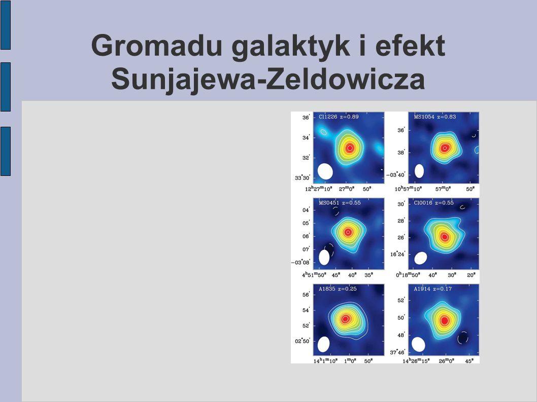 Gromadu galaktyk i efekt Sunjajewa-Zeldowicza