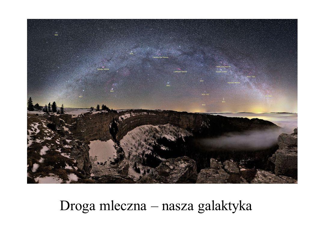 Gromada w Warkoczu Bereniki Odległość 90 Mpc, ponad 10000 galaktyk