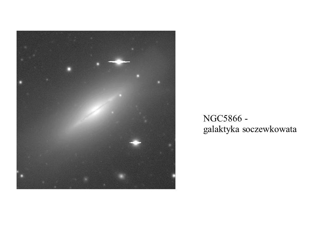 NGC5866 - galaktyka soczewkowata