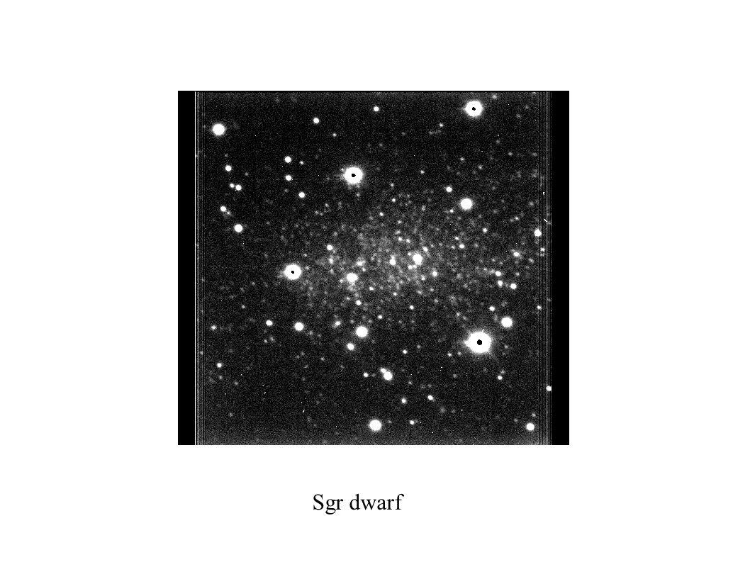 Sgr dwarf