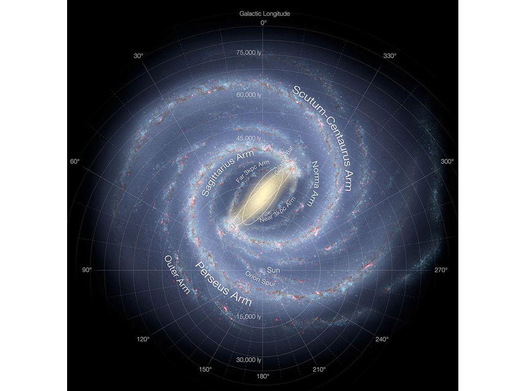 Galaktyka rozrywa karłowatą galaktykę w Sgr