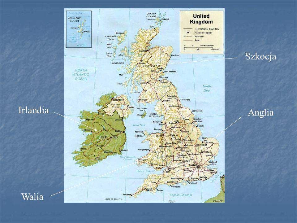 Podstawowe informacje Stolica: Londyn Język urzędowy: angielski Głowa państwa: Królowa Elżbieta II Jednostka monetarna: funt szterling Religia dominująca: anglikanizm