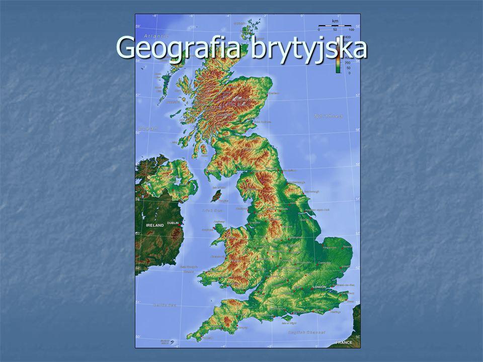 Rolnictwo c.d.Grunty orne znajdują się głównie w Anglii.