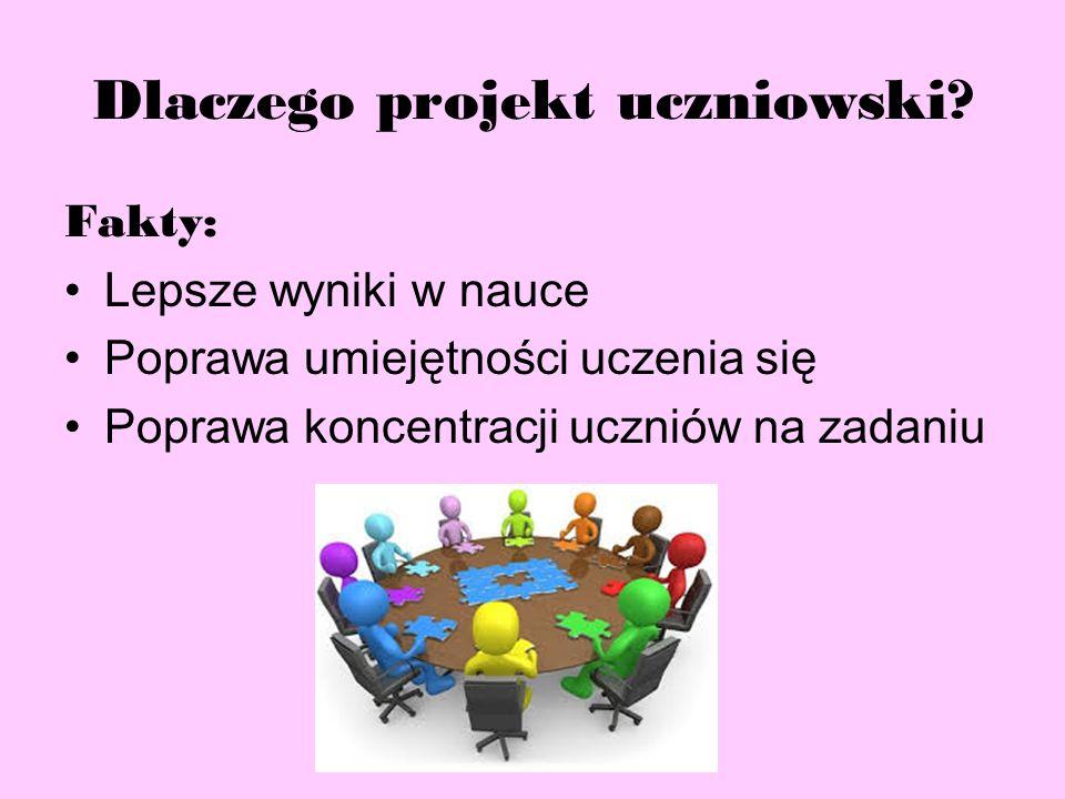 Dlaczego projekt uczniowski.