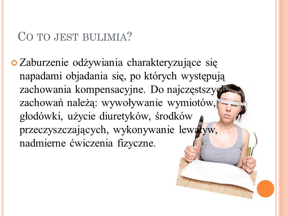 C O TO JEST BULIMIA .