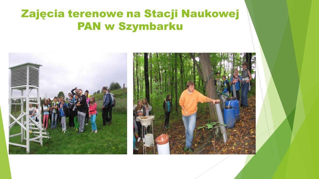 Zajęcia terenowe na Stacji Naukowej PAN w Szymbarku