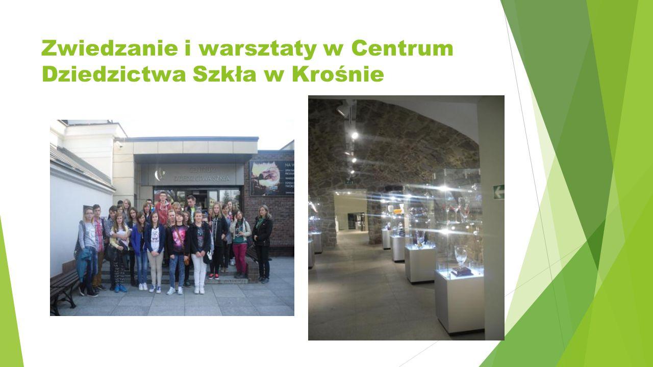 Zwiedzanie i warsztaty w Centrum Dziedzictwa Szkła w Krośnie