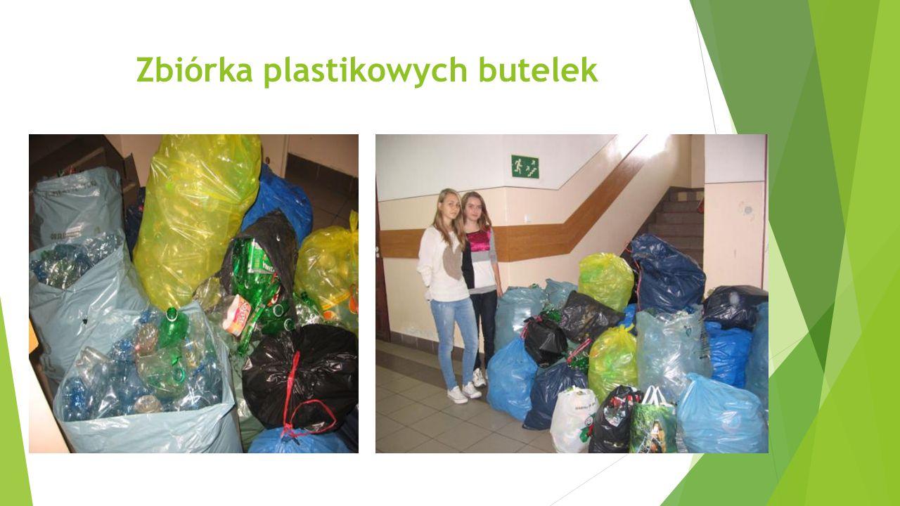 Zbiórka plastikowych butelek
