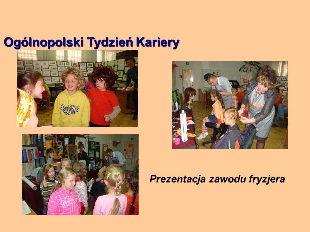 Ogólnopolski Tydzień Kariery Prezentacja zawodu fryzjera