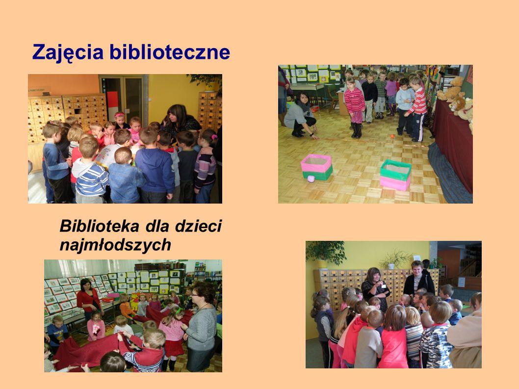 Zajęcia biblioteczne Biblioteka dla dzieci najmłodszych