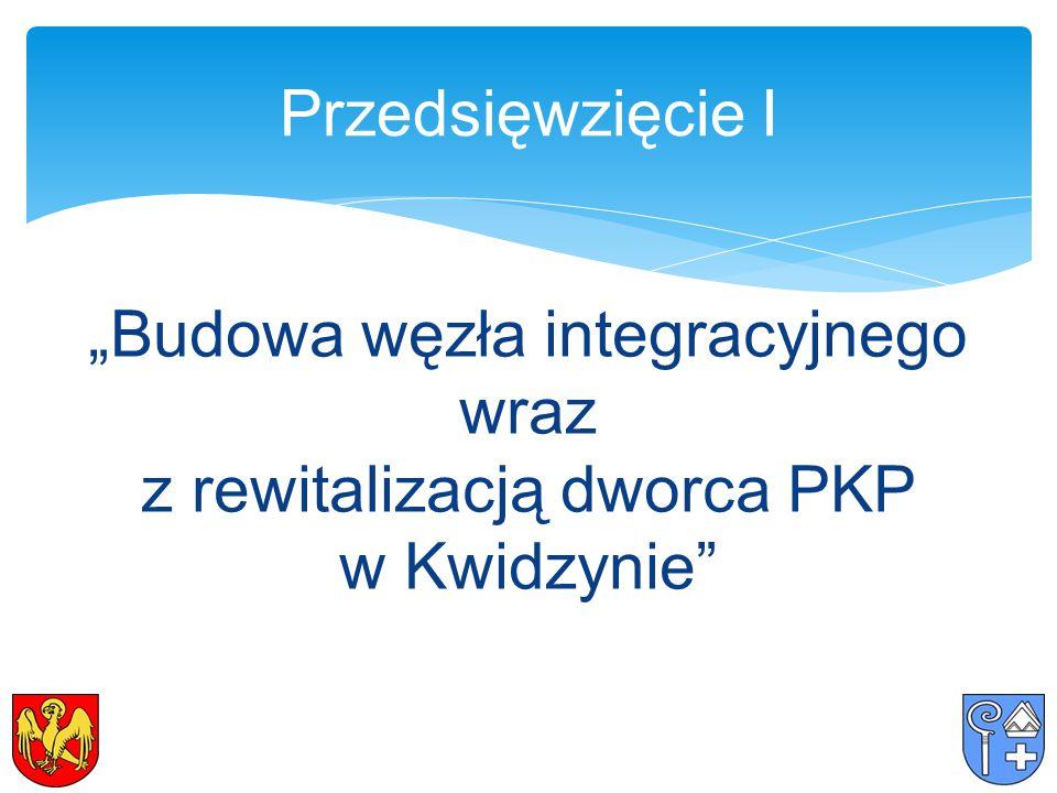 """""""Budowa węzła integracyjnego wraz z rewitalizacją dworca PKP w Kwidzynie Przedsięwzięcie I"""