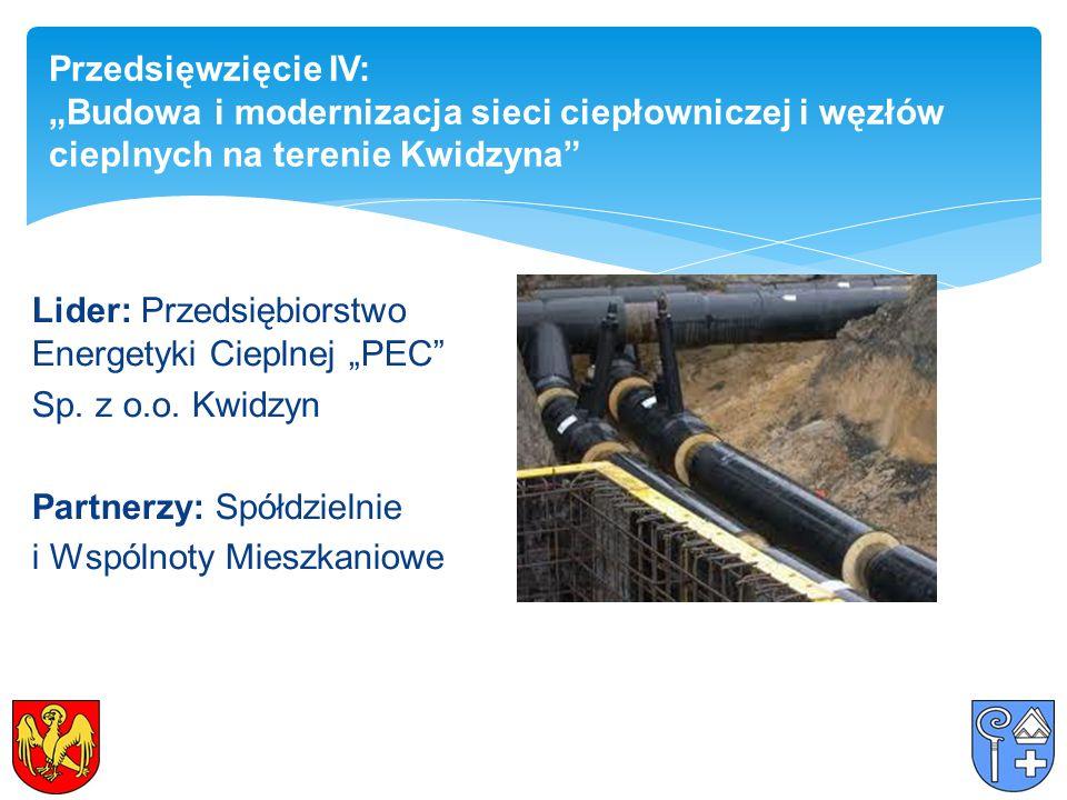 """Lider: Przedsiębiorstwo Energetyki Cieplnej """"PEC Sp."""