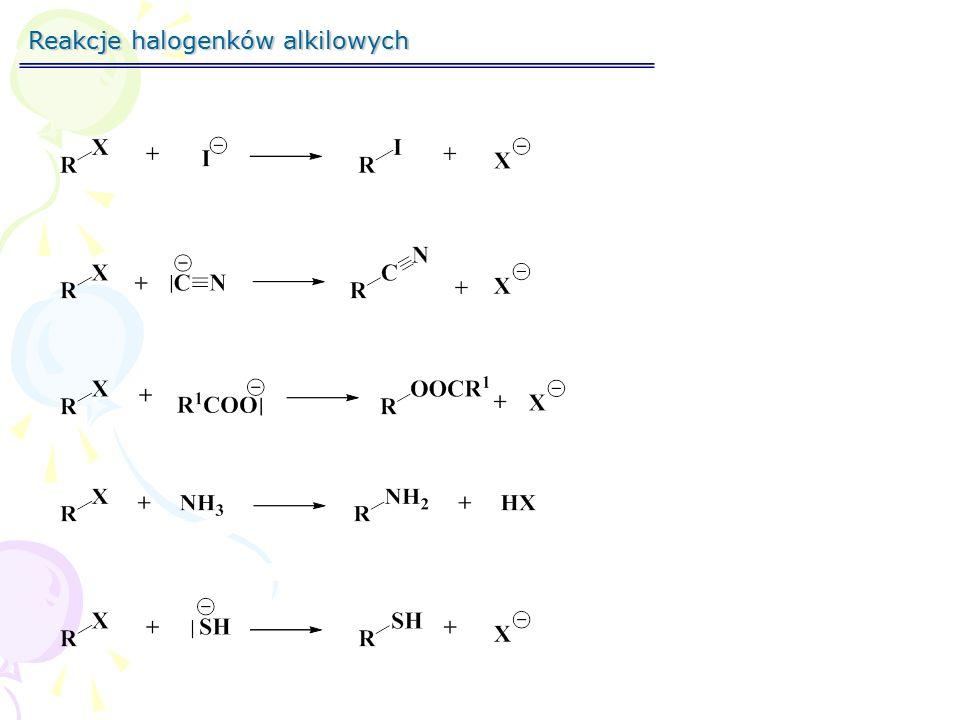 Substytucja nukleofilowa SNSNSNSN Substytucja - podstawienie Nukleofilowa łac.