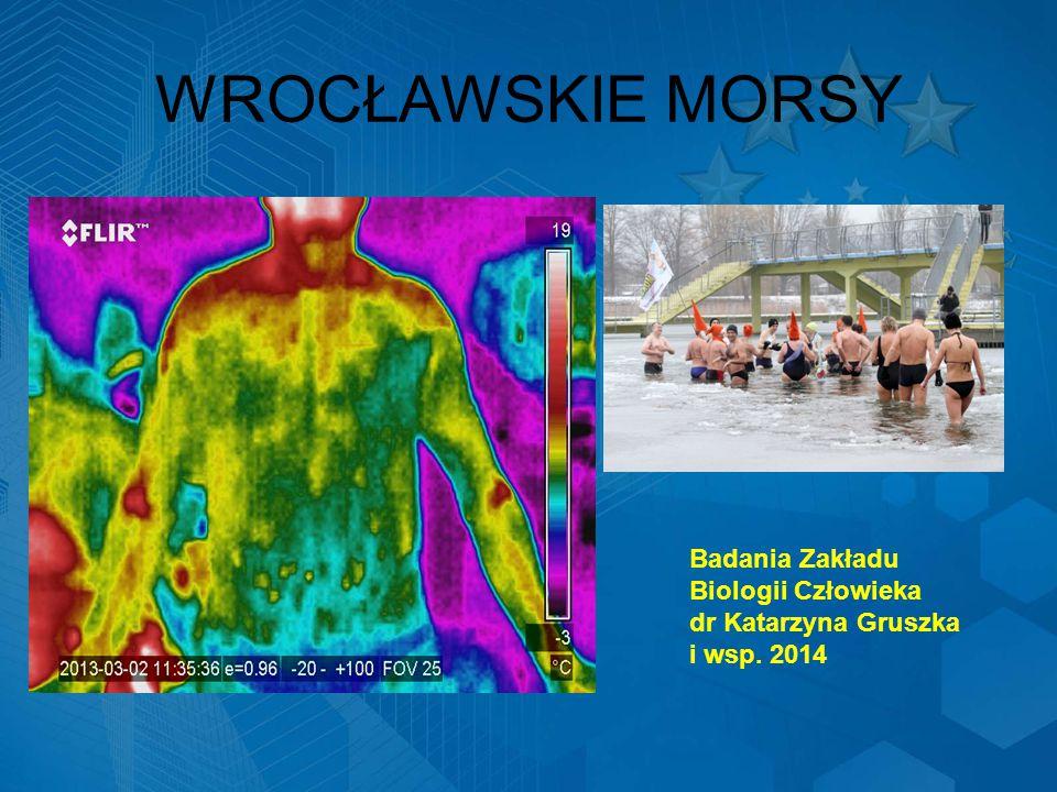 WROCŁAWSKIE MORSY Badania Zakładu Biologii Człowieka dr Katarzyna Gruszka i wsp. 2014
