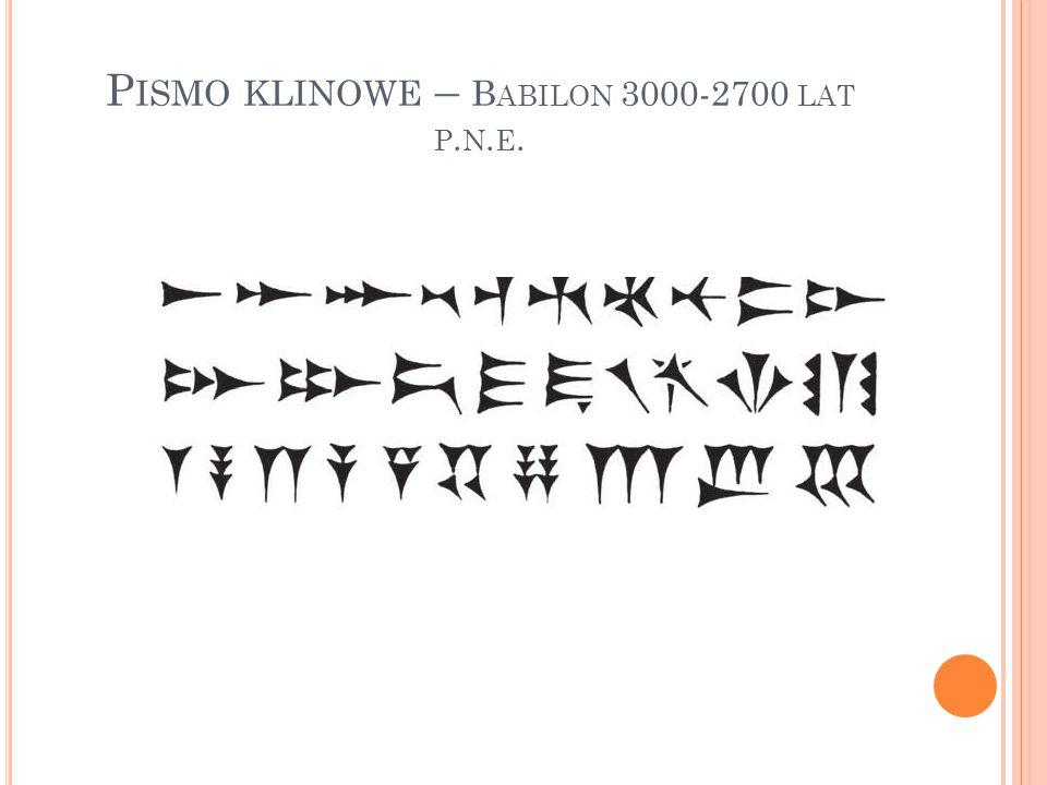 Od ok.600r. p.n.e. pisano piórami z ptasich skrzydeł.