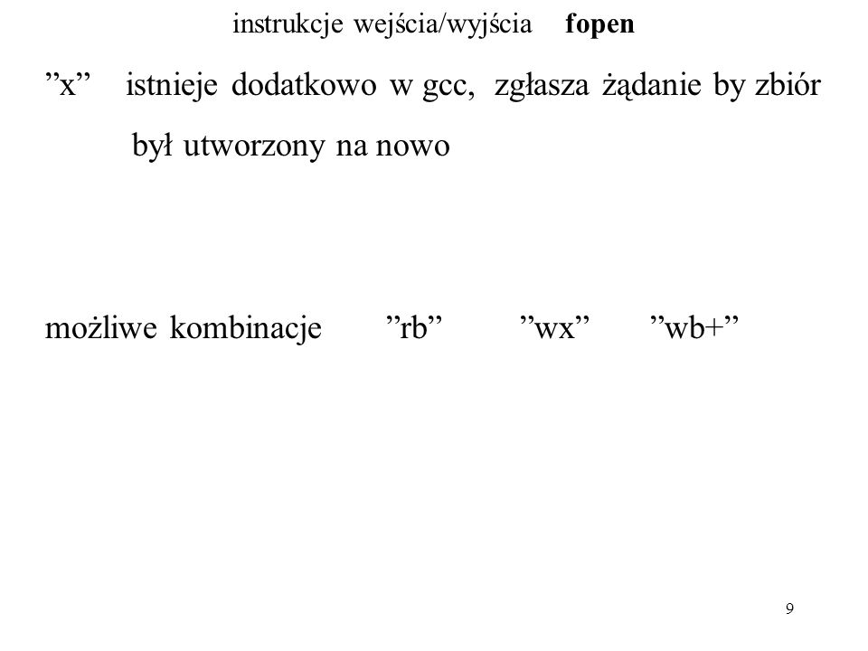 60 instrukcje wejścia/wyjścia niebuforowane open S.Oualline, rozdział 14, strona 246 pisanie/czytanie buforowane i niebuforowane.....