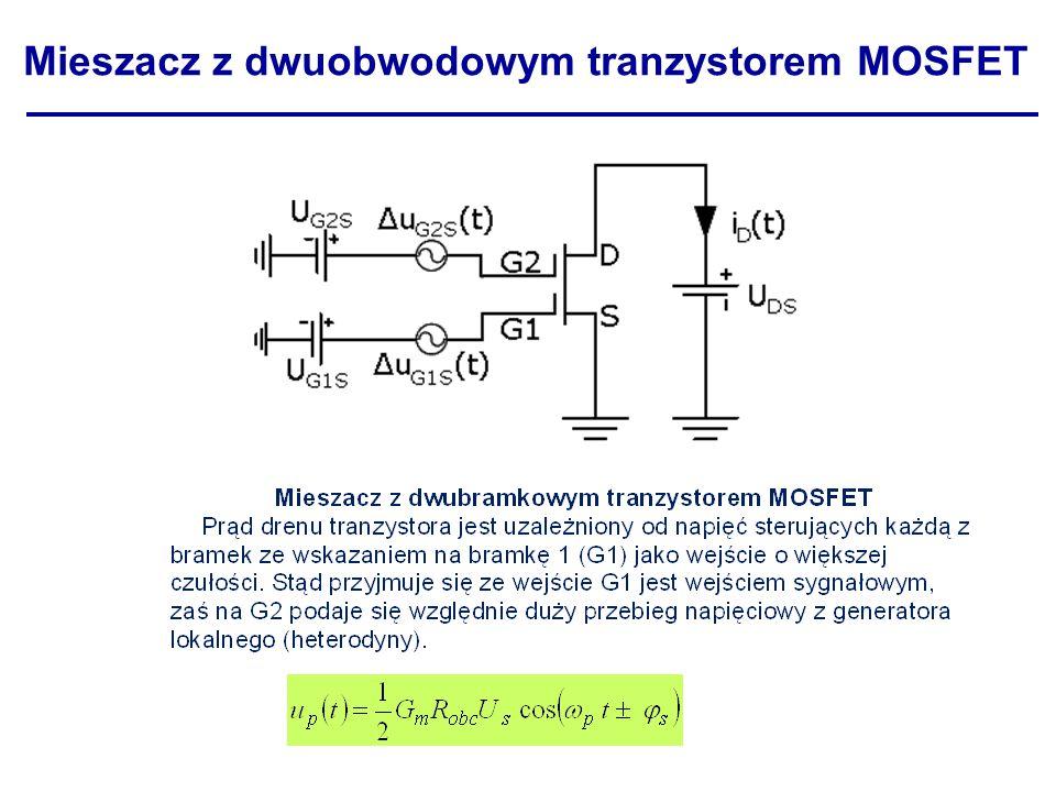 Mieszacz z dwuobwodowym tranzystorem MOSFET