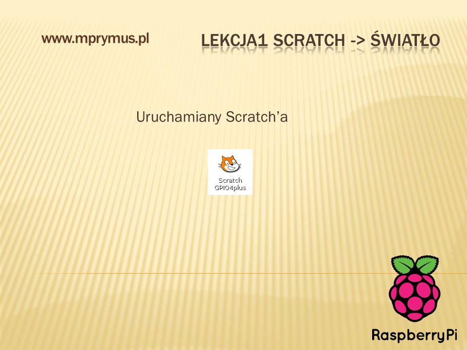 Uruchamiany Scratch'a www.mprymus.pl