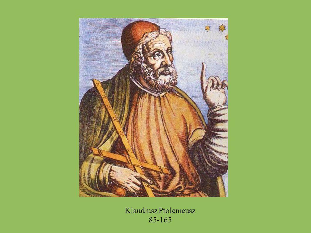 Klaudiusz Ptolemeusz 85-165