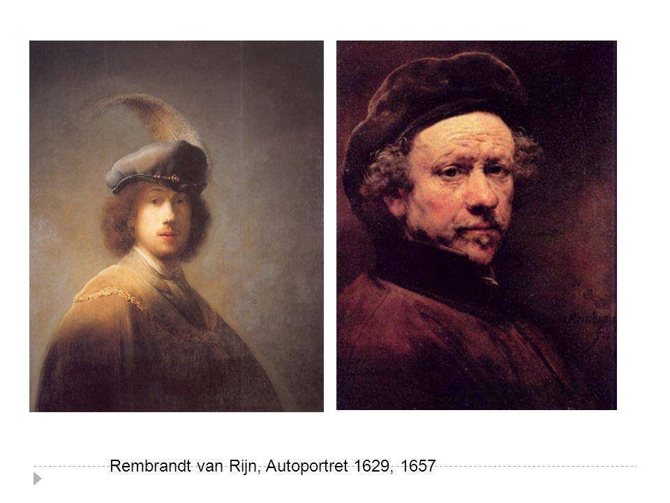 Rembrandt van Rijn, Autoportret 1629, 1657