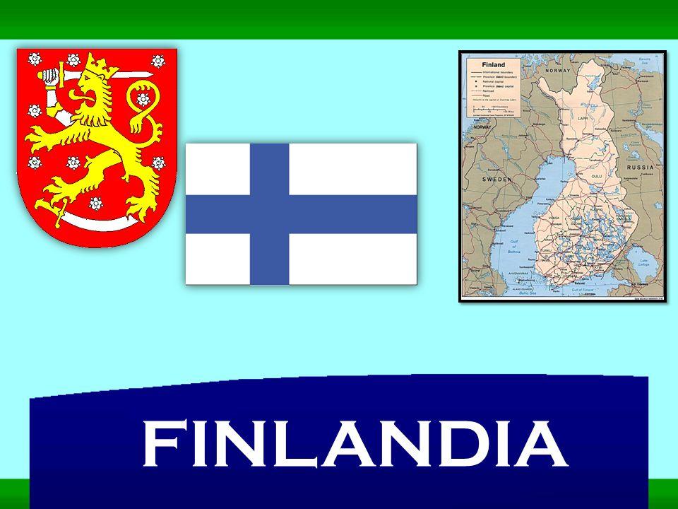 Republika Finlandii (Suomen Tasavalta) leży w północno – wschodniej Europie.