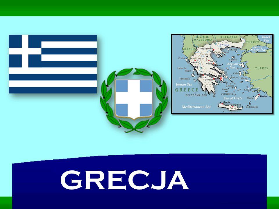 Grecja leży w południowej Europie pomiędzy Morzem Jońskim a Morzem Egejskim.
