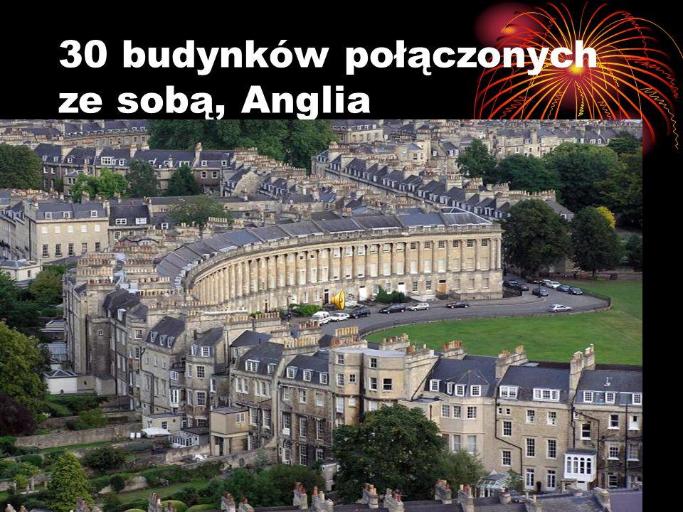 30 budynków połączonych ze sobą, Anglia