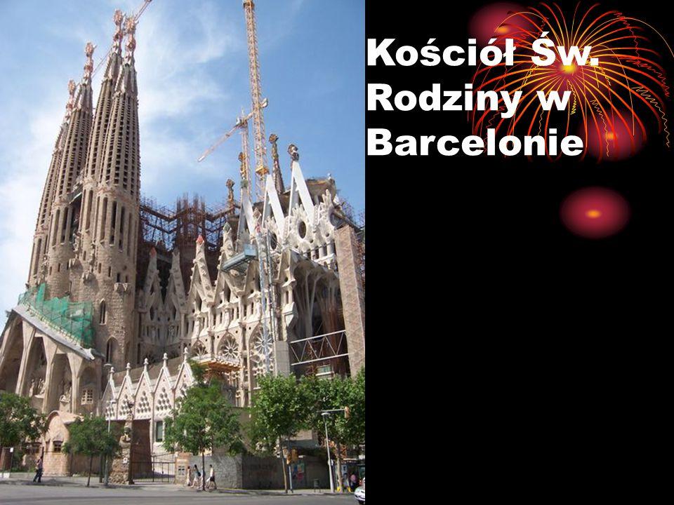 Kościół Św. Rodziny w Barcelonie
