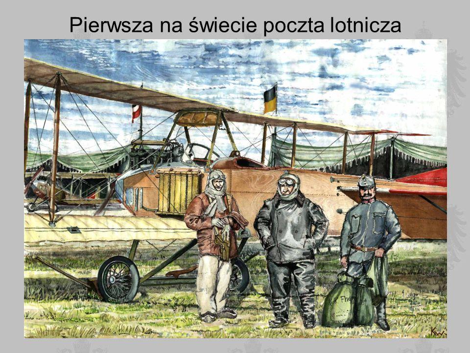 Pierwsza na świecie poczta lotnicza