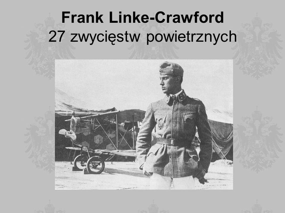 Frank Linke-Crawford 27 zwycięstw powietrznych