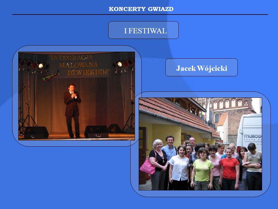 KONCERTY GWIAZD I FESTIWAL Jacek Wójcicki