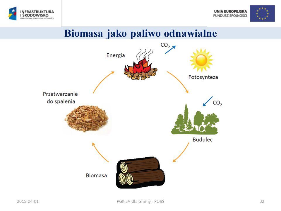 Biomasa jako paliwo odnawialne PGK SA dla Gminy - POIiŚ2015-04-0132