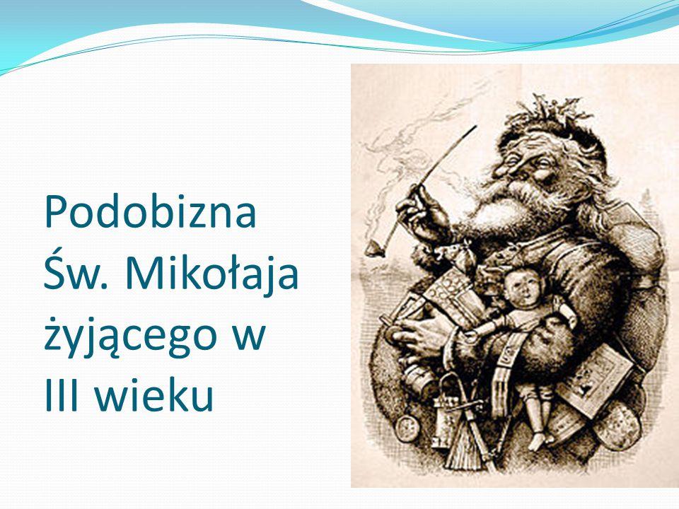 Podobizna Św. Mikołaja żyjącego w III wieku