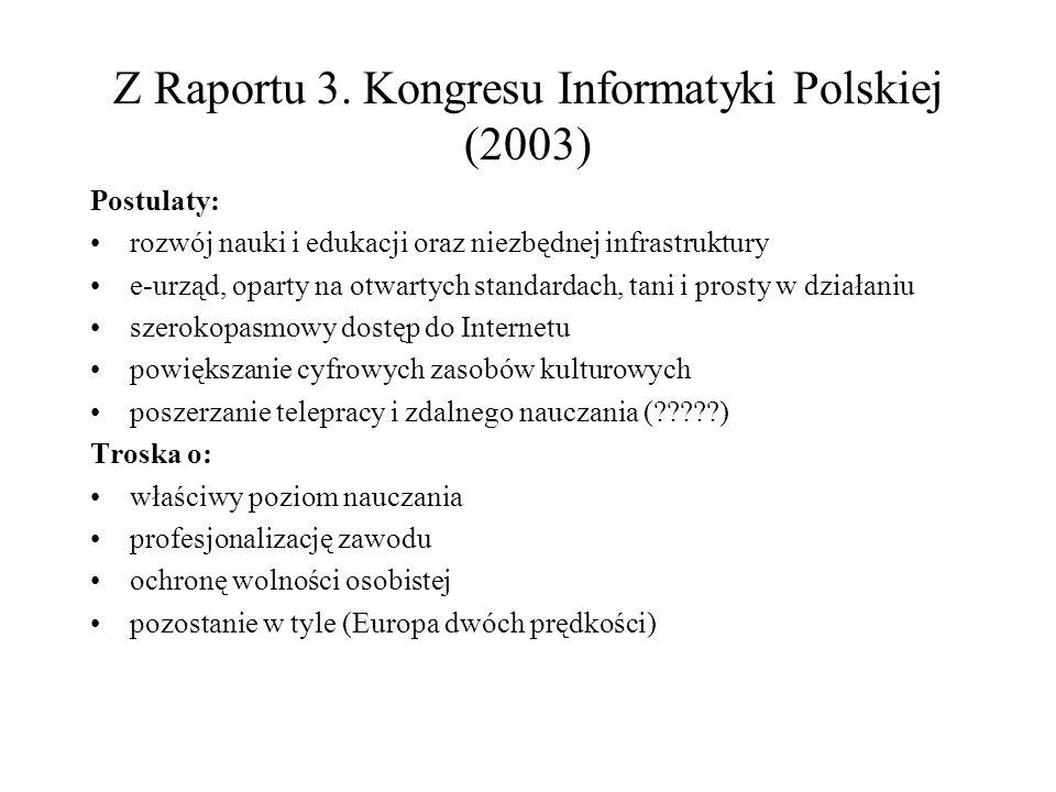 Z Raportu 3.