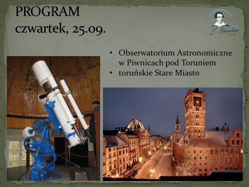 Obserwatorium Astronomiczne w Piwnicach pod Toruniem toruńskie Stare Miasto