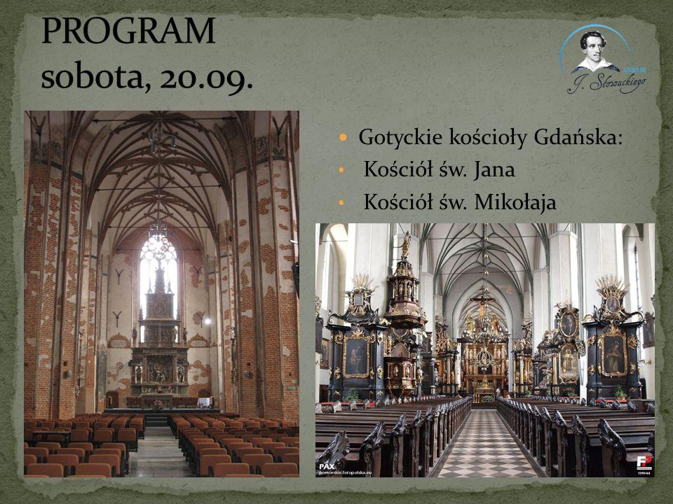 Gotyckie kościoły Gdańska: Kościół św. Jana Kościół św. Mikołaja