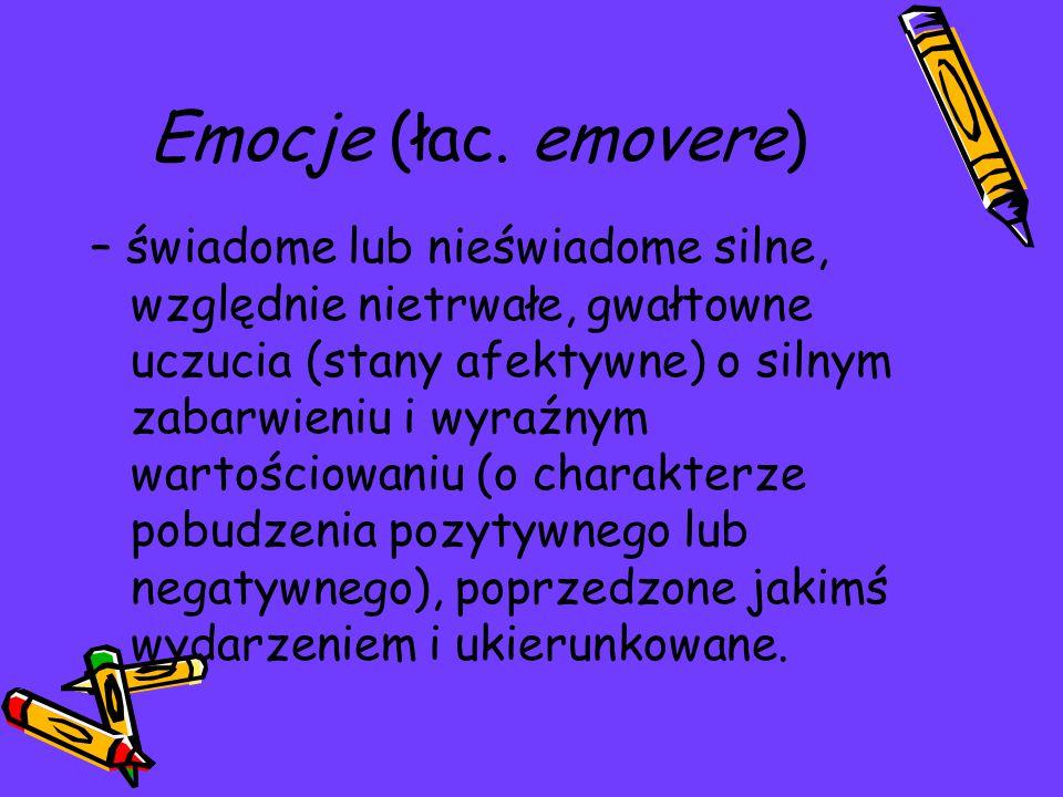 Emocje (łac.