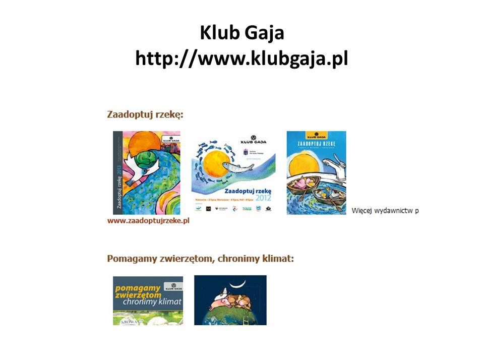 Klub Gaja http://www.klubgaja.pl