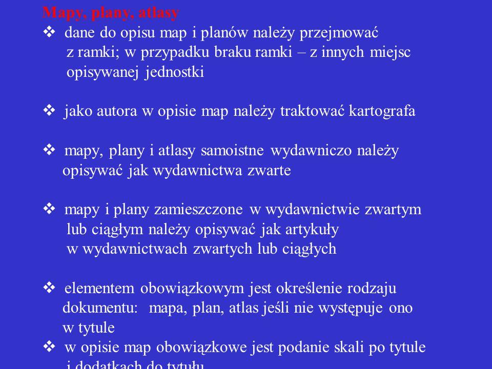 Przykłady opisu artykułu w wydawnictwie ciągłym WĘDZIK, Zofia.