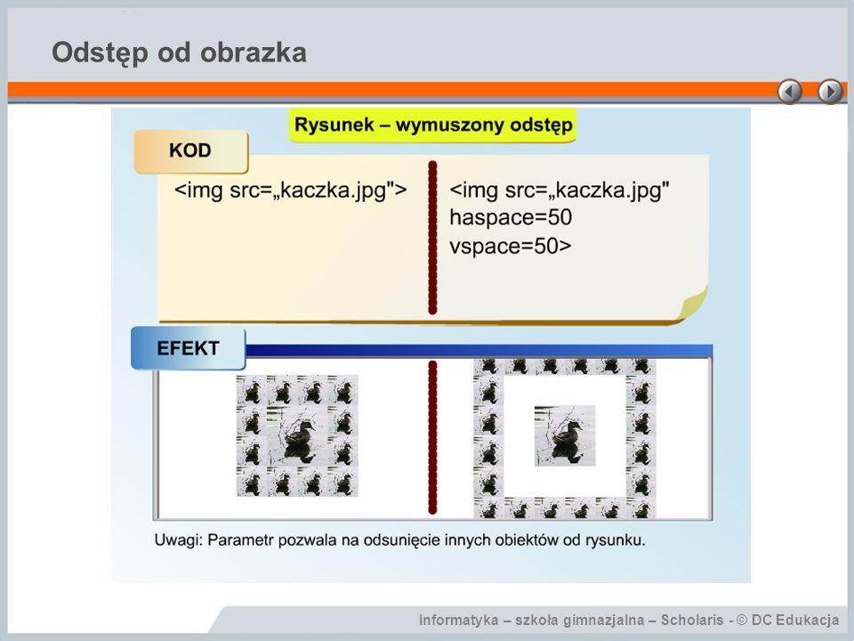Informatyka – szkoła gimnazjalna – Scholaris - © DC Edukacja Odstęp od obrazka