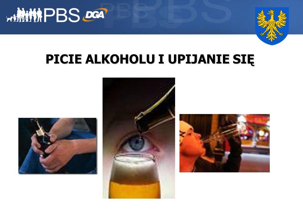 23 PICIE ALKOHOLU I UPIJANIE SIĘ