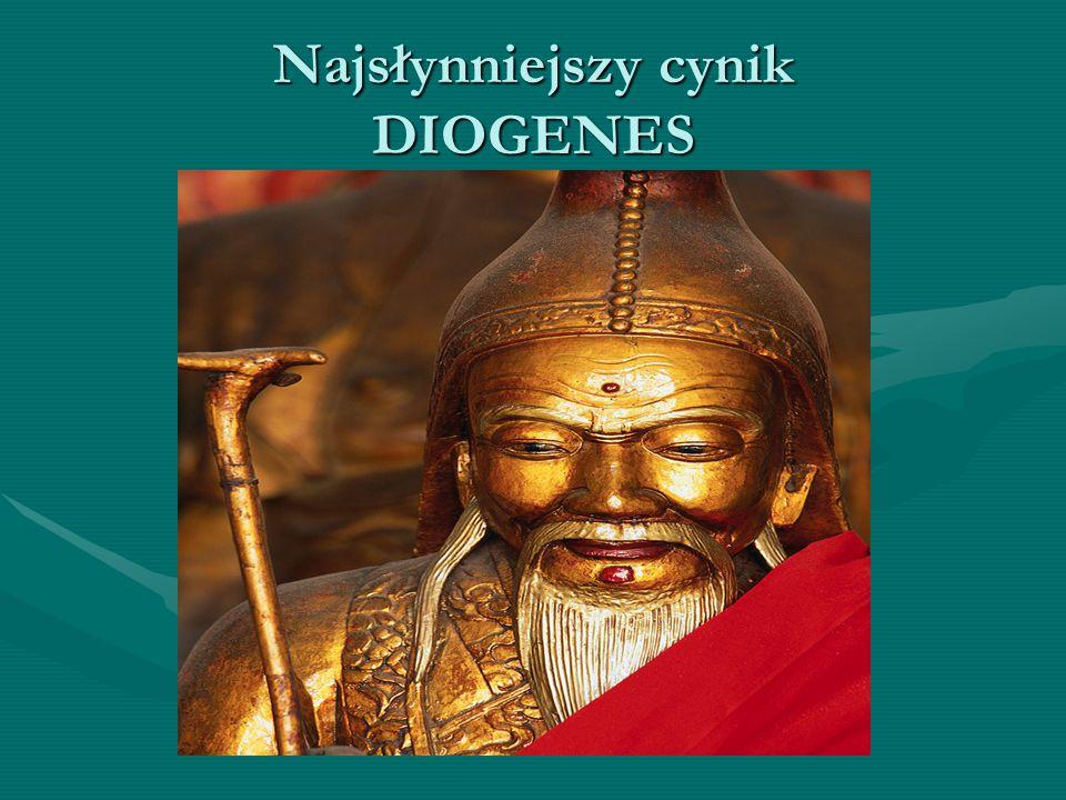 ...bogowie dali ludziom życie łatwe, ale tę łatwość zakryli przed ich wzrokiem. Myśli Diogenesa :