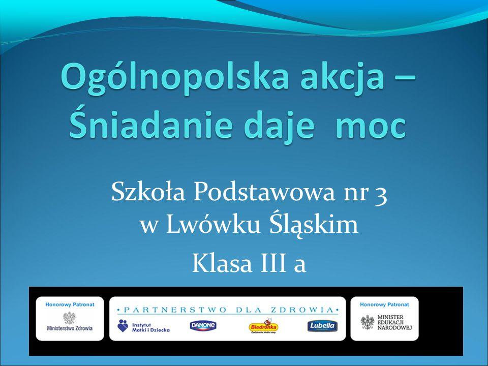 Szkoła Podstawowa nr 3 w Lwówku Śląskim Klasa III a